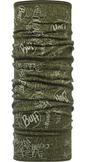 Buff Wool sjaal groen